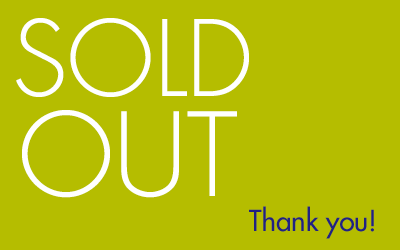 Sold out! Thank you!