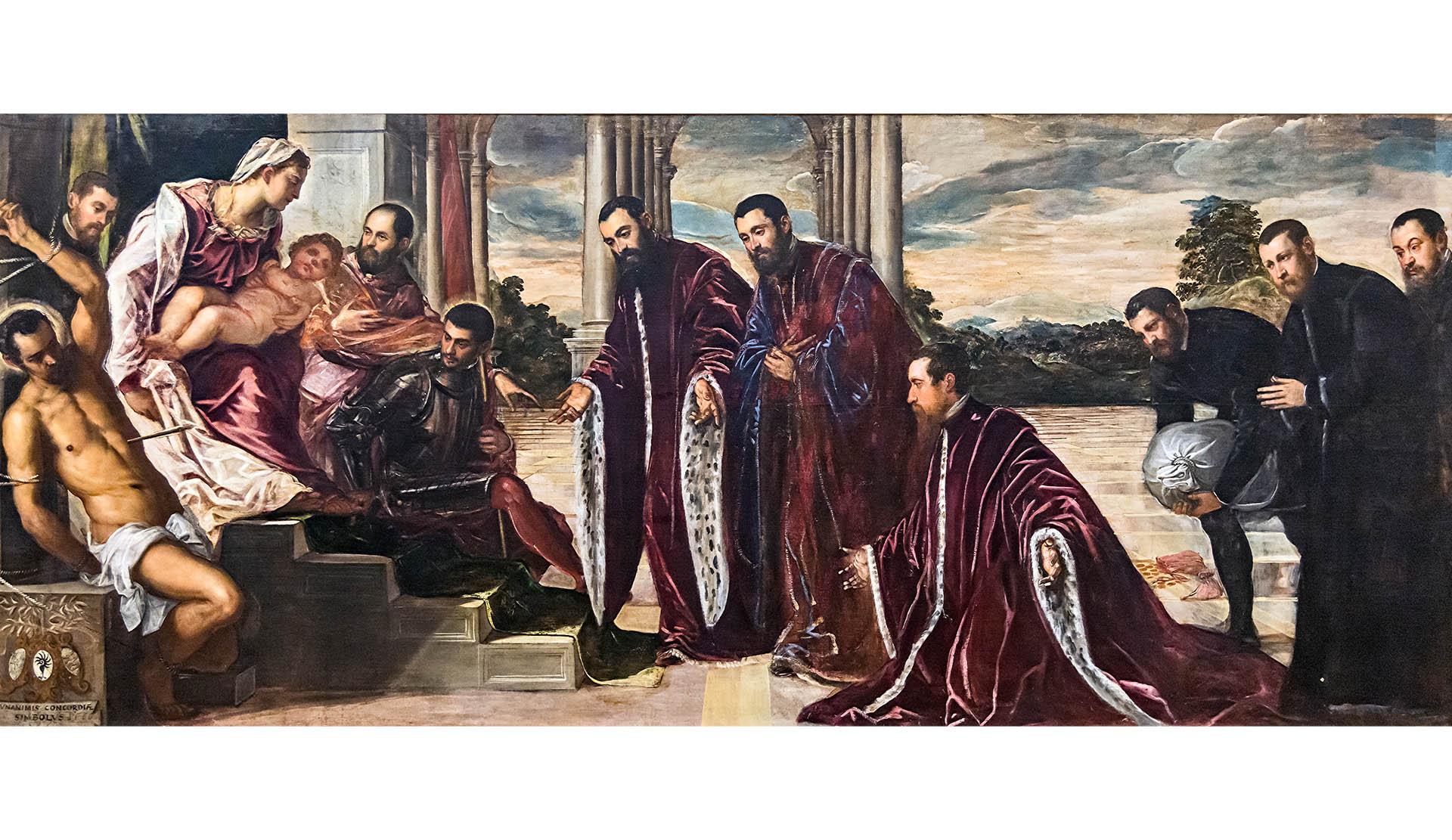 Tintoretto, Madonna