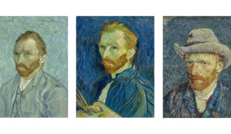 Three Van Gogh Self Portraits