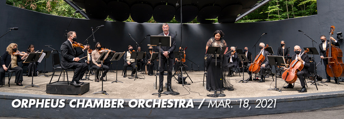 Orpheus Chamber Orchestra performs March 18